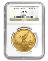 Click now to see the BUY IT NOW Price! 2014 MO 1 OZ GOLD LIBERTAD NGC MS 70  MEXICO WINGED VICTORY ONZA ORO MO