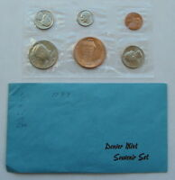 1983 D DENVER MINT SOUVENIR SET US MINT SEALED W/ ENVELOPE