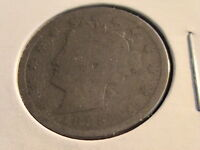 1883 LIBERTY NICKEL WITH CENTS VARIETY   1ST YEAR FULL DATE   N1364