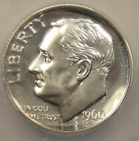 1960 PROOF ROOSEVELT DIME - ICG PR70 - TOP GRADE