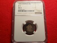 1805 DRAPED BUST DIME NGC AG 3 GREAT EARLY 10C TYPE COIN 4 BERRIES JR-2