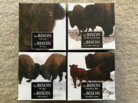 2014 CANADA   THE BISON 4X 1OZ SILVER PROOF COIN COLLECTION