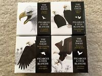 2013 CANADA   THE BALD EAGLE 4X 1OZ SILVER PROOF COIN COLLECTION