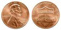 2013 D LINCOLN SHIELD CENT GEM BU PENNY US COIN