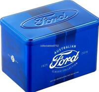 FORD AUSTRALIAN CLASSIC COLLECTION   EMPTY TIN RAM SOLD OUT.