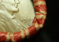 UNSEARCHED SHOTGUN ROLL W/ 1909 S  VDB?  LINCOLN WHEAT CENT