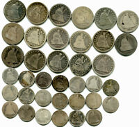 MASSIVE LOT TYPE COIN COLLECTION  STARTING IN 1794  MANY SIL