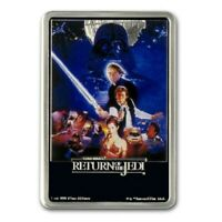 NIUE  2017  1 OZ SILVER PROOF COIN   STAR WARS   RETURN OF THE JEDI