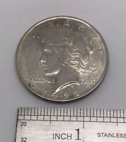 GOOD CONDITION 1922 $1 UNITED STATES PEACE SILVER DOLLAR COIN