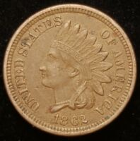 1862 INDIAN HEAD CENT PENNY NICE COIN FOR YOUR COLLECTION  B F