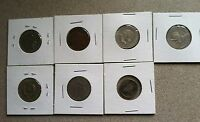 MIXED LOT OF FOREIGN COINS   CIRCULATED