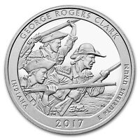 2017 5 OZ SILVER AMERICA THE BEAUTIFUL ATB GEORGE ROGERS CLARK NATIONAL PARK IN