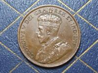 1912 CANADIAN LARGE PENNY KING GEORGE V LOT BX117