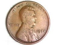 1923-P LINCOLN WHEAT CENT PENNY COIN Q38
