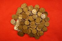 1923-P LINCOLN WHEAT CENT PENNY 50 COIN ROLL G-VF GREAT COLLECTOR COINS GIFT