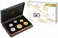 2X 2015 PROOF 6 COIN SET   50TH ANNIVERSARY OF THE ROYAL AUS