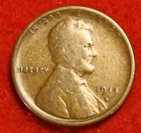 1915-S 1C LINCOLN WHEAT CENT PENNY G COLLECTOR COIN CHECK OUT STORE LW1653