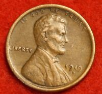 1919-D 1C LINCOLN WHEAT CENT PENNY EXTRA FINE  COLLECTOR COIN CHECK OUT STORE LW1669