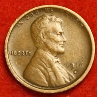 1916-S 1C LINCOLN WHEAT CENT PENNY EXTRA FINE  COLLECTOR COIN CHECK OUT STORE LW1675