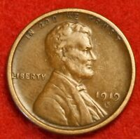 1919-S 1C LINCOLN WHEAT CENT PENNY EXTRA FINE  COLLECTOR COIN CHECK OUT STORE LW1686
