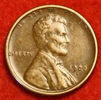 1920-S 1C LINCOLN WHEAT CENT PENNY EXTRA FINE  COLLECTOR COIN CHECK OUT STORE LW1707