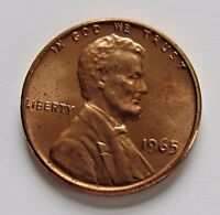 1965 1C LINCOLN MEMORIAL CENT   FREE DOMESTIC SHIPPING