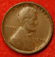 1909-P LINCOLN WHEAT CENT PENNY VF COLLECTOR COIN CHECK OUT STORE LW988