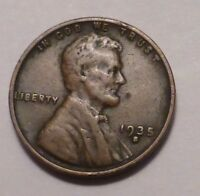 1935 S LINCOLN WHEAT CENT CENT - SHIPS FREE - MORE CENTS LISTED