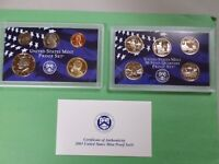 2003 S PROOF SET WITH COA AND BOX