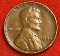 1933-P 1C LINCOLN WHEAT CENT PENNY EXTRA FINE  COLLECTOR COIN CHECK OUT STORE LW1855