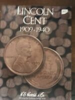 1909-1940 WHEAT CENT COLLECTION