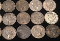 1927-1935 PEACE SILVER DOLLAR GOOD AND BETTER GREAT COLLECTIBLE DATES