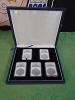 2011 SILVER AMERICAN SILVER EAGLE 25TH ANNIVERSARY 5 COIN SET  NGC