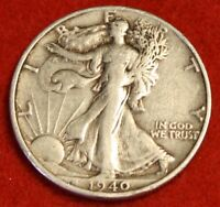 1940-S 50C WALKING LIBERTY HALF DOLLAR EXTRA FINE  BEAUTIFUL COIN CHECK OUT STORE WL342