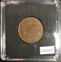 1864 TWO CENT SHIELD OBVERSE  LCS043