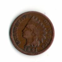 1891 INDIAN HEAD PENNY     2066