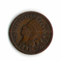 1891 INDIAN HEAD PENNY     2067