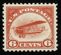 SCOTTC1 6C AIR MAIL 1918 MINT NH OG NEVER HINGED WELL CENTERED