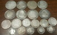 1700'S SILVER MIXED FOREIGN COINS COLLECTION LOT