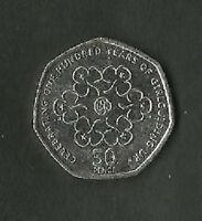 100 YEARS OF GIRL GUIDES 50P