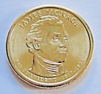 2008 D $1 JAMES MONROE   POS B PRESIDENTIAL DOLLAR   FREE DOMESTIC SHIPPING