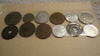 WORLD COINS VARIOUS COUNTRIES AND YEARS   LOT 501
