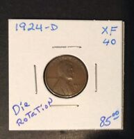 1924 D 1C LINCOLN CENT