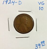 1924-D 1C BN LINCOLN CENT