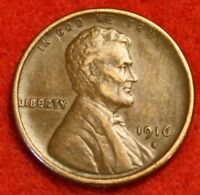 1916-S 1C LINCOLN WHEAT CENT PENNY EXTRA FINE  COLLECTOR COIN CHECK OUT STORE LW1672