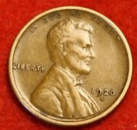 1920-S 1C LINCOLN WHEAT CENT PENNY EXTRA FINE  COLLECTOR COIN CHECK OUT STORE LW1709