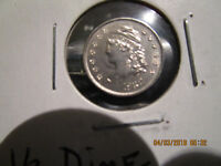 1832 1/2 CAPPED BUST DIME MINT STATE