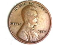 1926-P LINCOLN WHEAT CENT PENNY COIN Q24