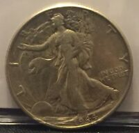 1944 50C WALKING LIBERTY HALF DOLLAR AU CW0030