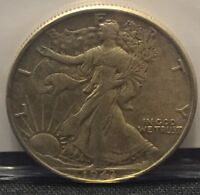 1943 50C WALKING LIBERTY HALF DOLLAR AU CW0029